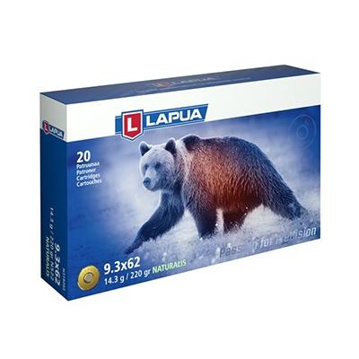 Lapua 9.3x62 Naturalis Solid 250gr Ammo N319204