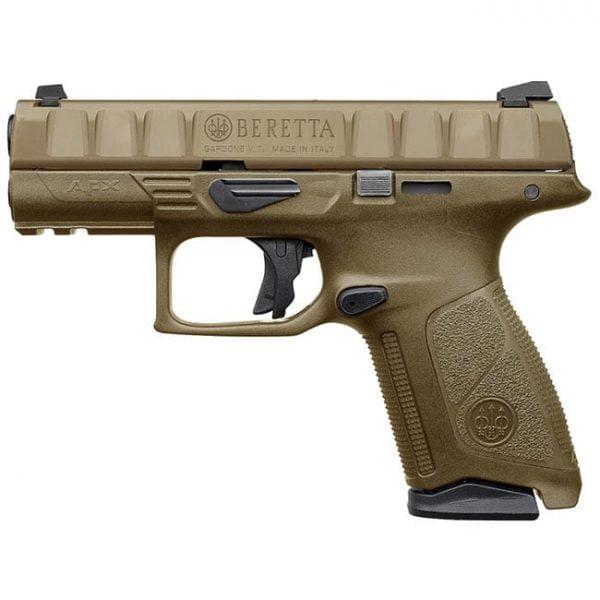 Beretta APX Centurion FDE 9mm Striker Fired 15rd Pistol JAXQ92105