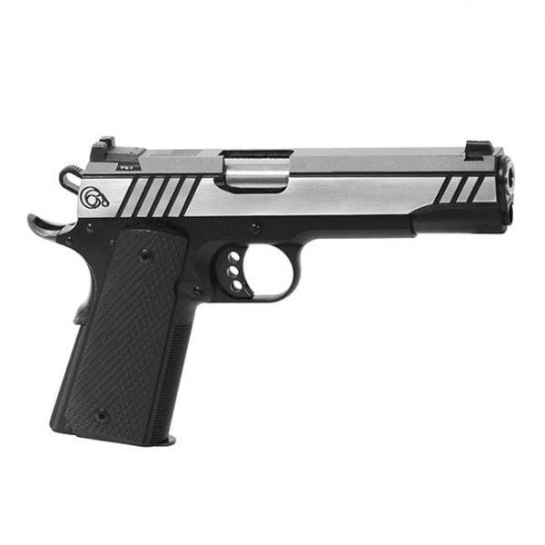 Christensen Arms 1911 A5 .45 ACP Pistol Black with Polished Steel/Black Slide CA10294-1281111