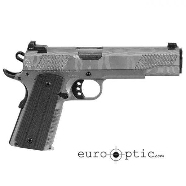 Christensen Arms 1911 G5-Ti 9mm Natural Steel Damascus Pistol CA10262-1071111