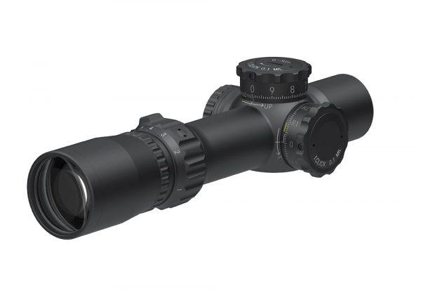 March F Tactical 1-8x24 short FMC-3 Reticle 0.1MIL Illuminated FFP Riflescope D8SV24FIML