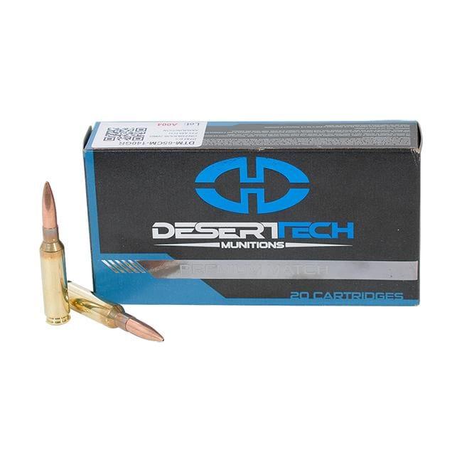 DTM 6.5CM 140GR PTS Match Ammunition Case 400 RDS