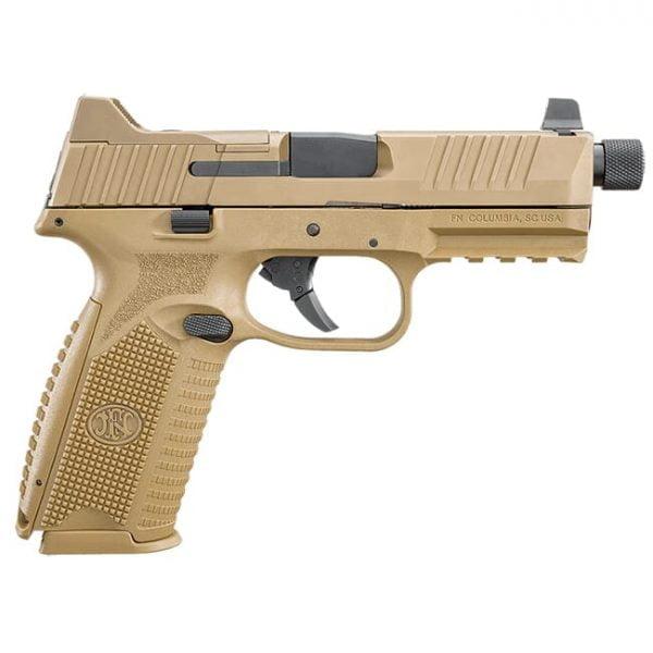 FN 509 Tactical 9mm NMS FDE/FDE NS (3) 10rd Mag - Optics Ready 66-100383