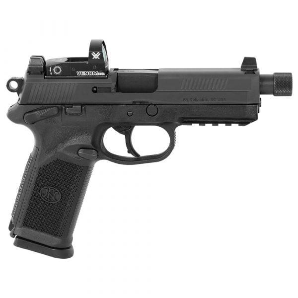 FN FNX-45 Tactical .45 ACP BLK/BLK NS Pistol with 2X10 Vortex Venom Red Dot 66-100658