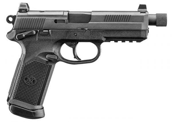 """FNX-45 Tactical .45 ACP 5.3"""" Barrel 10/15 Round Black 66966"""