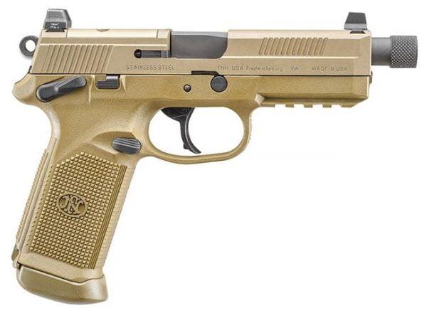 "FNX-45 Tactical .45 ACP 5.3"" Barrel 15 Round Flat Dark Earth 66968"