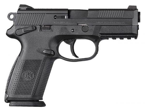 """FNX-9 9mm 4"""" 10 Round Black 66836"""