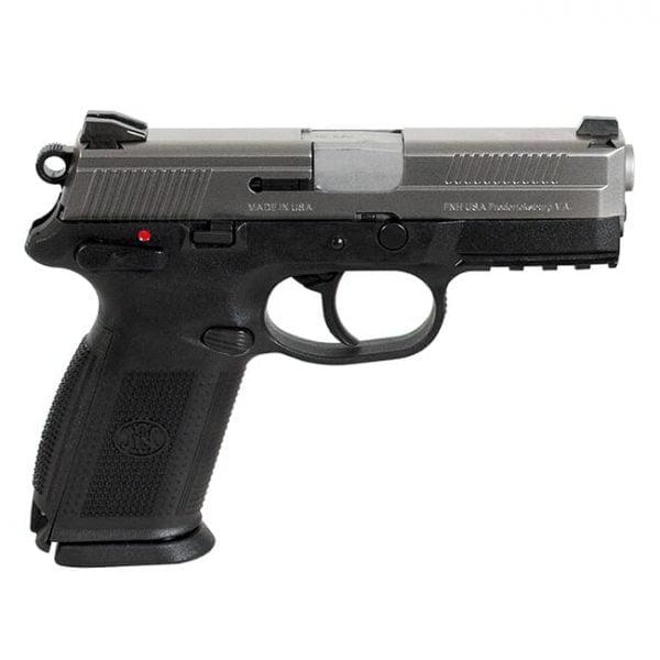 """FNX-45 .45 ACP 4.5"""" Barrel 10+1 Black/Silver 66963"""