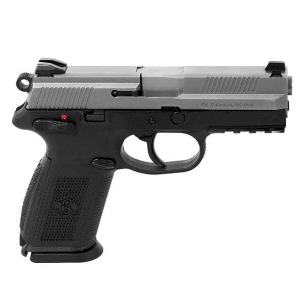 """FNX-9 9mm 4"""" Barrel 17 Round Black/Silver 66826"""