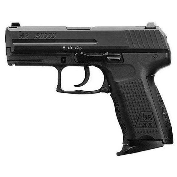 Heckler Koch P2000 V2 LEM .40 S&W Pistol 81000048 / 704202LEL-A5