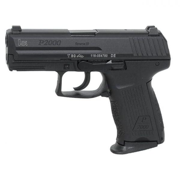 HK P2000 V2 LEM 9mm Pistol 81000038 / 709202LE-A5
