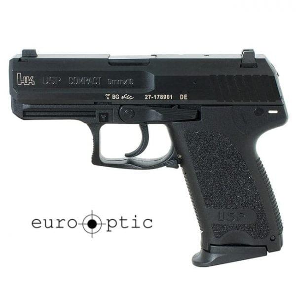 Heckler Koch USP9 Compact V7 LEM 9mm Pistol 81000334 / 709037LE-A5