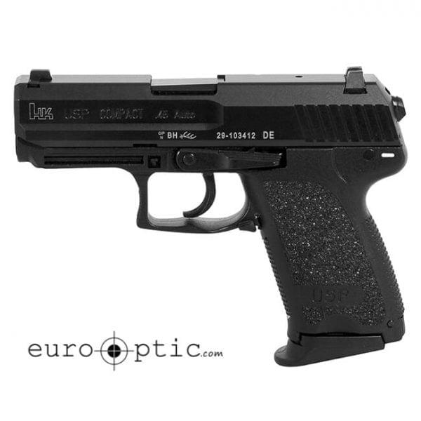 Heckler Koch USP45 Compact V7 LEM .45 AUTO Pistol 81000346 / 704537LE-A5