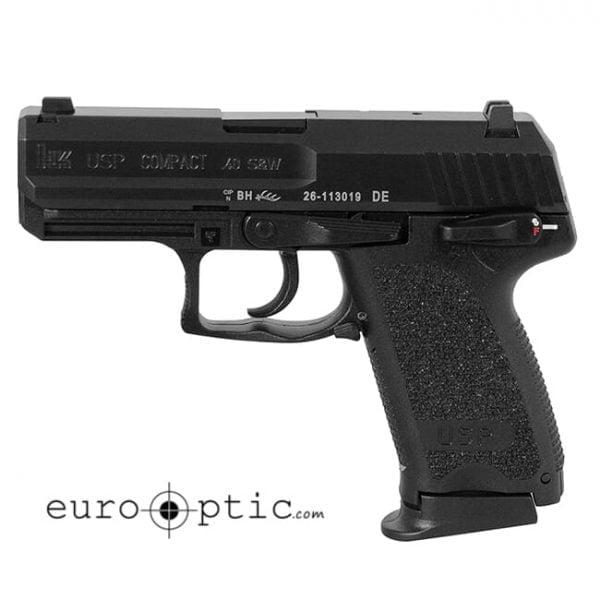 Heckler Koch USP40 Compact V1 .40 S&W Pistol 81000339 / 704031LEL-A5