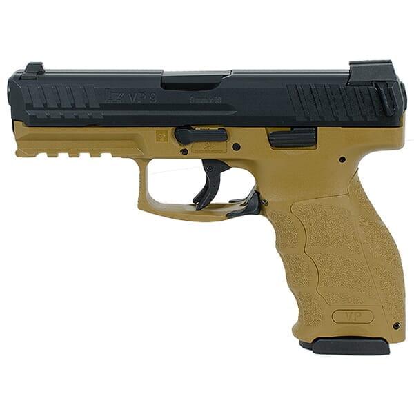 Heckler Koch VP9 9mm FDE Pistol 700009FDELEL-A5