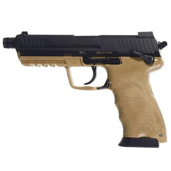 HK45 Officer .45 ACP Tan Pistol HK-745001TTLE-A5