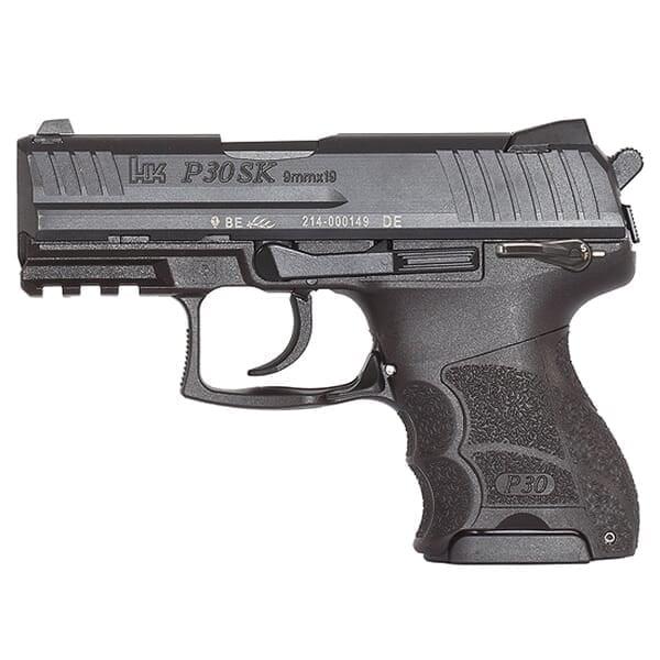 Heckler Koch P30SKS V3 9mm Pistol 81000089 / 730903KSLE-A5