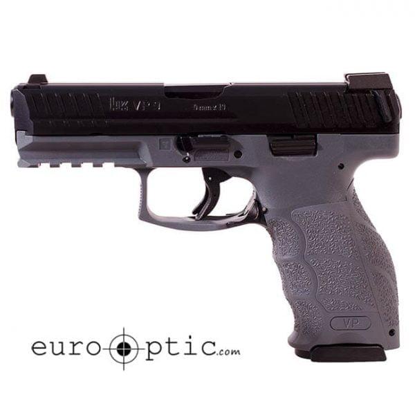 Heckler Koch VP9 9mm Grey w/ Night Sight Pistol 700009GYLEL-A5