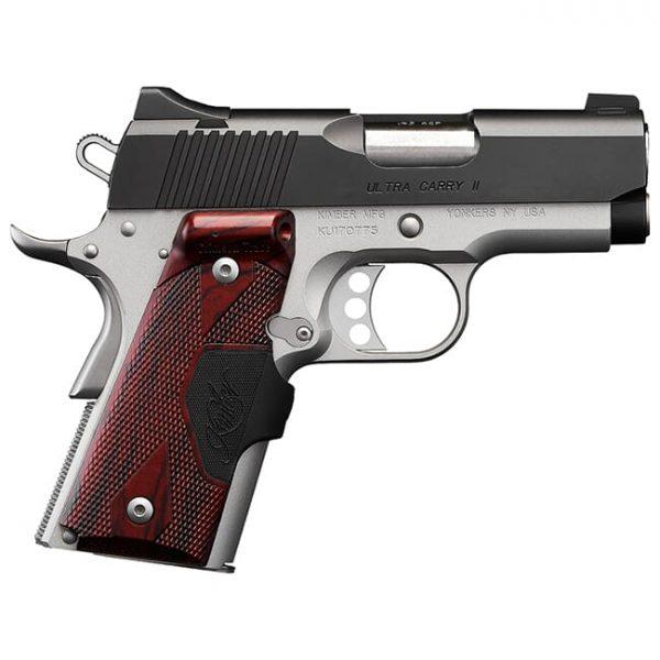 Kimber Ultra Carry II (Two-Tone) (LG)(Green Laser) .45 ACP Pistol 3200390