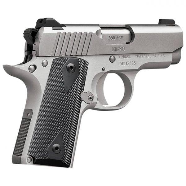 Kimber Micro .380 ACP 6rd Stainless Pistol 3700604