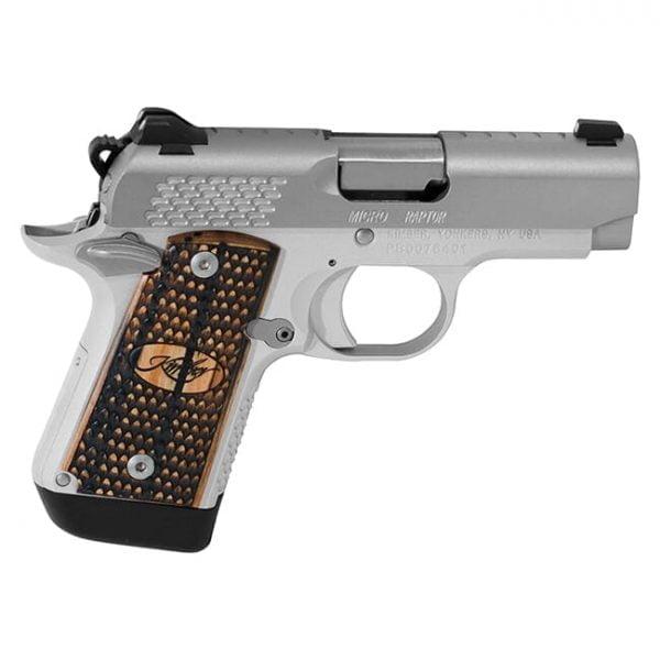 Kimber 1911 Micro 9 Raptor Stainless 9mm Pistol 3300109