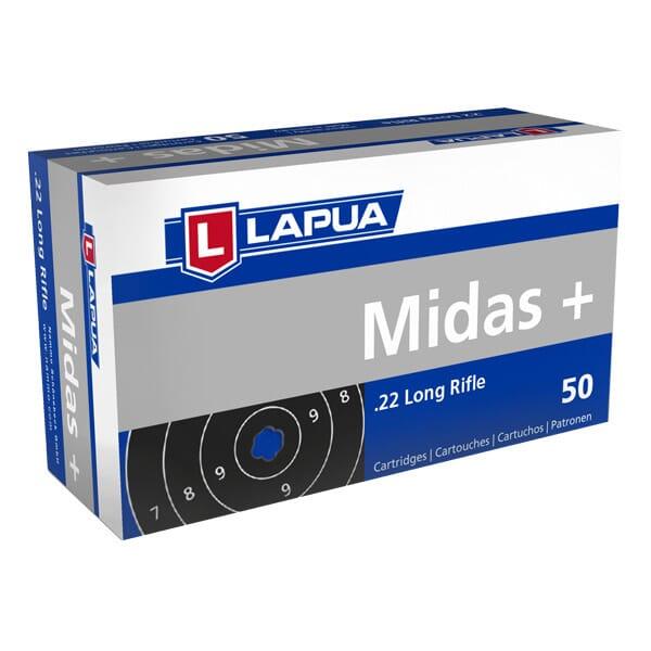 Lapua .22 LR Midas - Case 5,000rds 420162