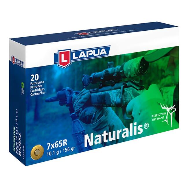 Lapua 7x65R 155gr Naturalis Solid Box of 20 N317323