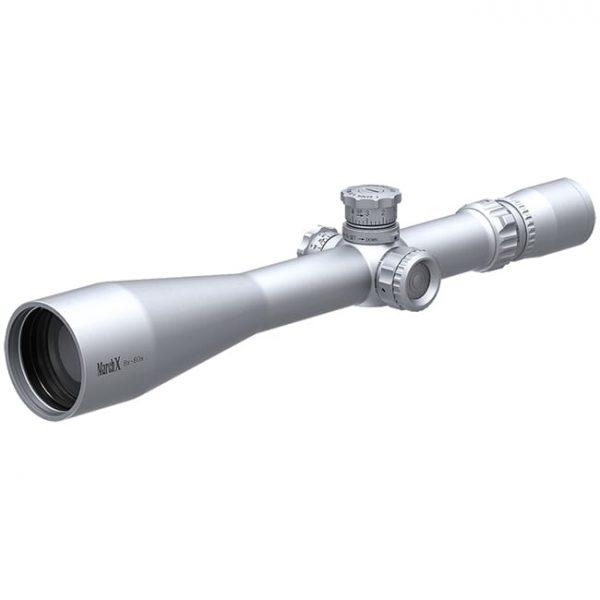 March X Tactical 8-80x56 Silver MTR-1 Reticle 1/8MOA Illuminated Riflescope D80V56STI