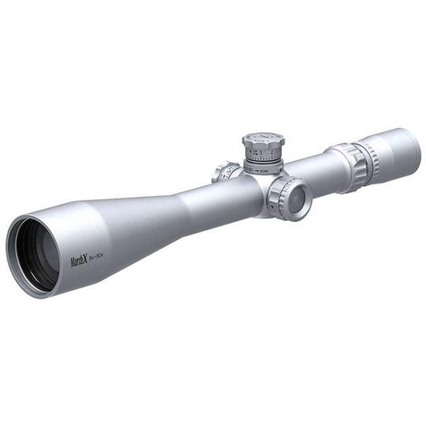March X Tactical 8-80x56 Silver MTR-4 Reticle 1/8MOA Illuminated Riflescope D80V56STI