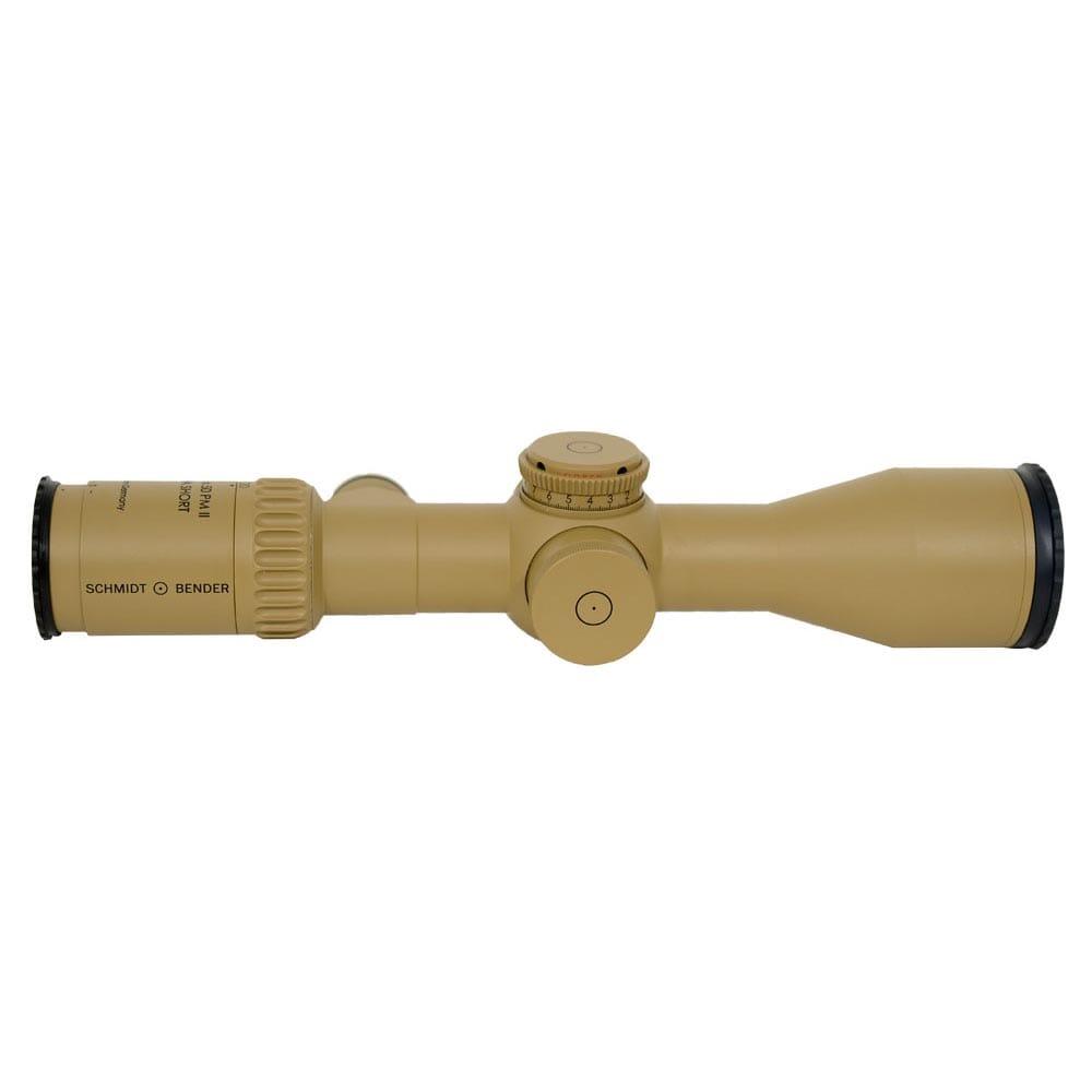 Schmidt Bender 5-20x50 PM II Ultra Short LP Tremor2 1cm ccw ST MTC LT / ST ZS CT RAL8000 Riflescope 673-945-522-E2-E8