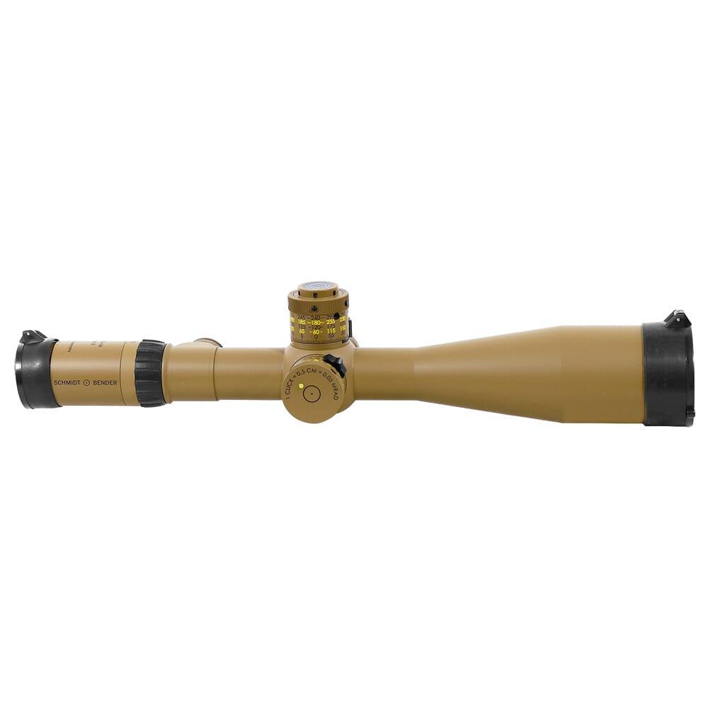 Schmidt Bender 5-25x56 PM???II FFP P4FL MT II MTC LT / DT II+ ZC LT 0.5 cm/100 m ccw Pantone 7504M Riflescope 677-946-972-I1-H5