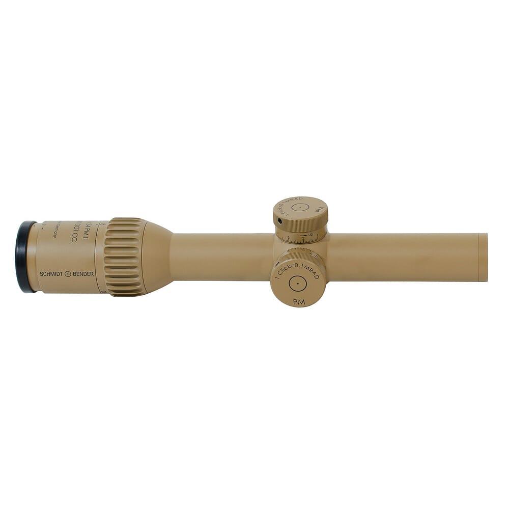 Schmidt Bender 1-8x24 PM II ShortDot CC FD CQB2 1cm ccw ST LT / ST LT Pantone 7504M Riflescope 682-846-918-B6-B2