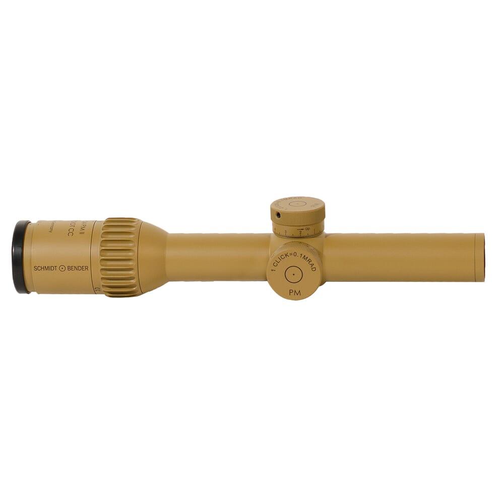 Schmidt Bender 1-8x24 PM II ShortDot CC FD CQB2 1cm ccw ST LT / ST LT RAL8000 Riflescope 682-845-918-B6-B2