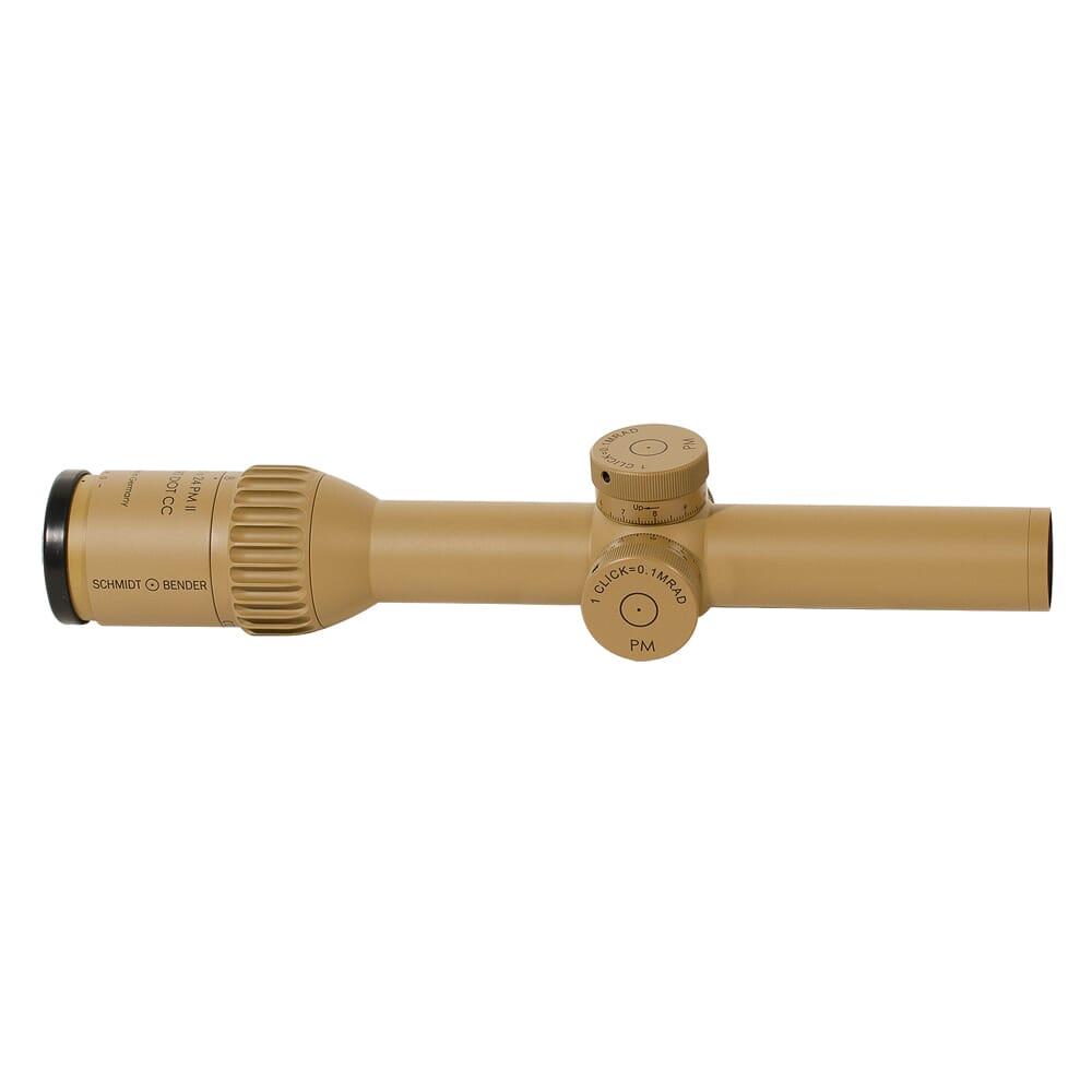 Schmidt Bender 1-8x24 PM II ShortDot CC FD CQB2 1cm cw ST LT / ST LT Pantone 7504M Riflescope 682-846-918-B7-B3