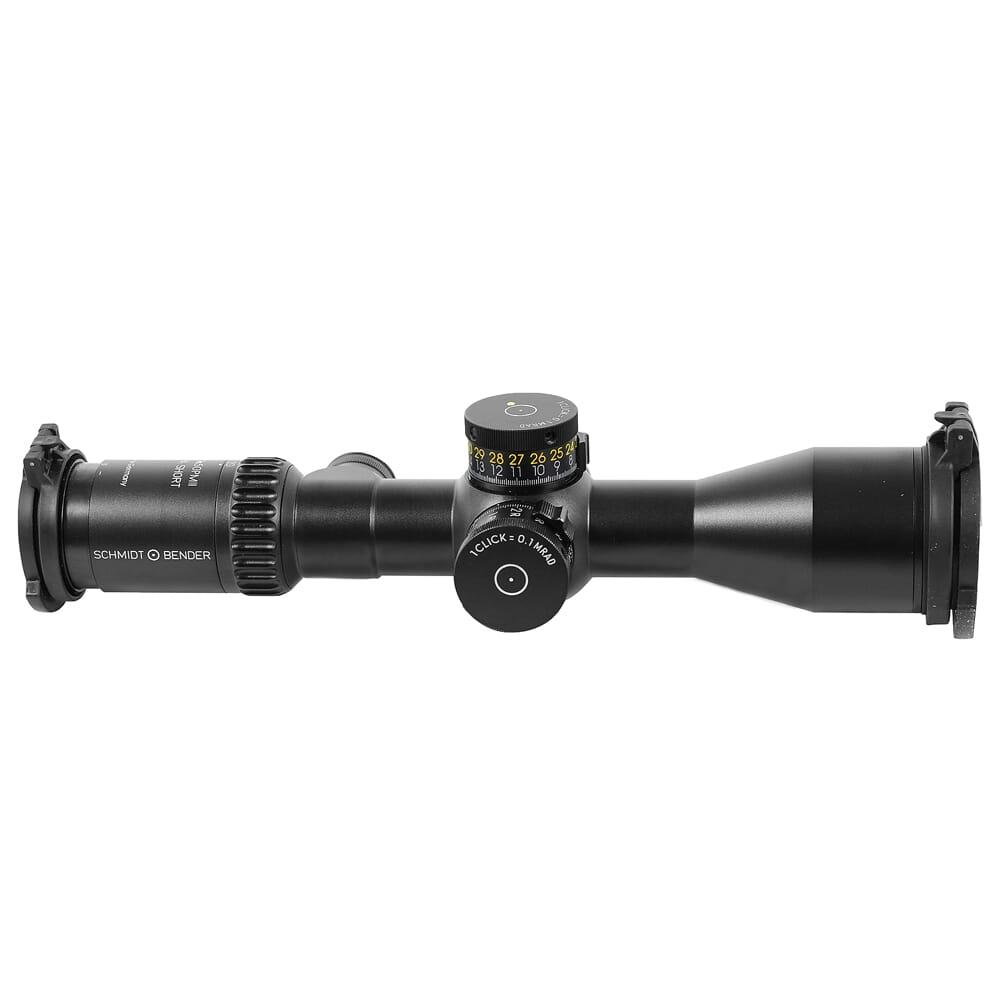Schmidt Bender PM II 5-20x50 Ultra Short DT II+ MTC LT/ST MSR .1 mrad CCW Riflescope 673-911-852-M2-I5