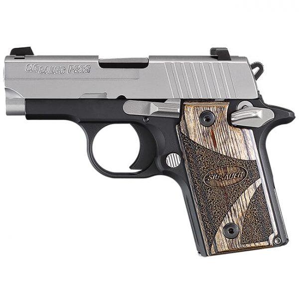 Sig P238 Blackwood .380 ACP Pistol 238-380-BG