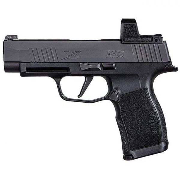 Sig Sauer P365 XL 9mm Pistol w/ (2) 12rd Steel Mags & Romeo Zero Optic Installed 365XL-9-BXR3-RXZ