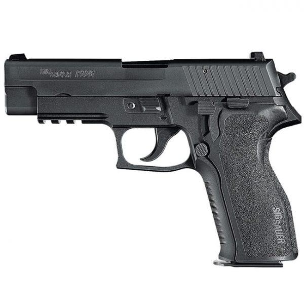 """Sig Sauer P226 9mm 4.4"""" Nitron Black DA/SA Pistol w/ (2) 10Rd Mags 226R-9-BSS"""