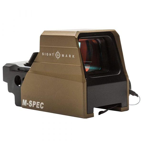 Sightmark Ultra Shot M-Spec LQD 65 MOA Circle Dot Crosshair Reflex Sight - Dark Earth SM26034DE