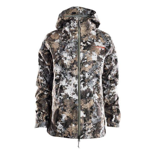 Sitka Women's Downpour Jacket Optifade Elevated II XX Large 50138-EV-XXL