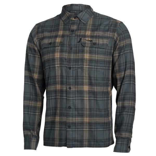 Sitka Gear TTW Sandstone Plaid Frontier Shirt 80011-SZ