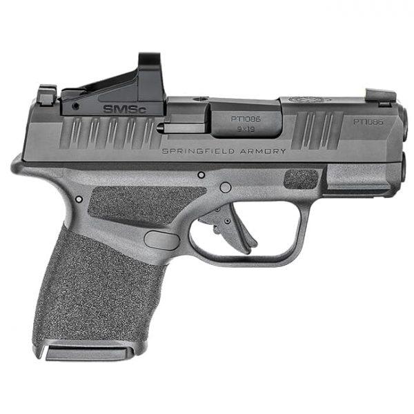 "Springfield Armory Hellcat 9mm 3"" Black Micro-Compact Pistol w/ Shield SMS-C Sight HC9319BOSPSMSC"