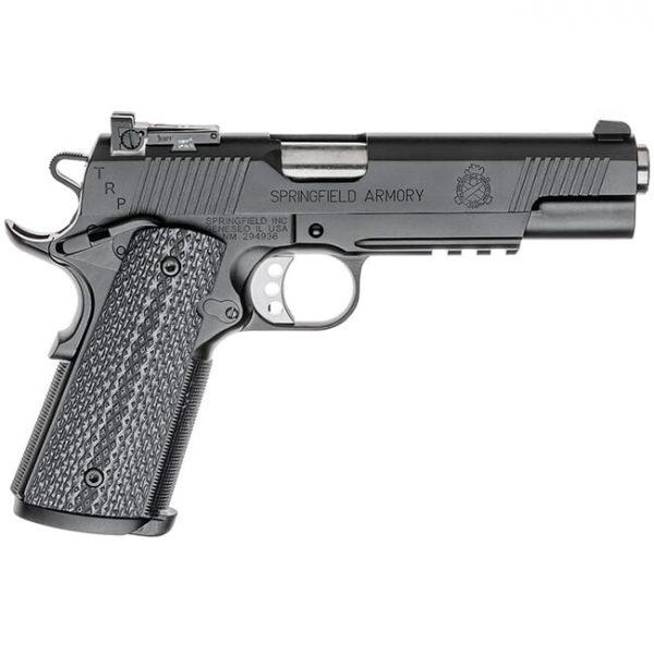 "Springfield Armory 1911-A1 5"" .45 TRP Operator Black Kote Pistol w/ Range Bag PC9105L18"