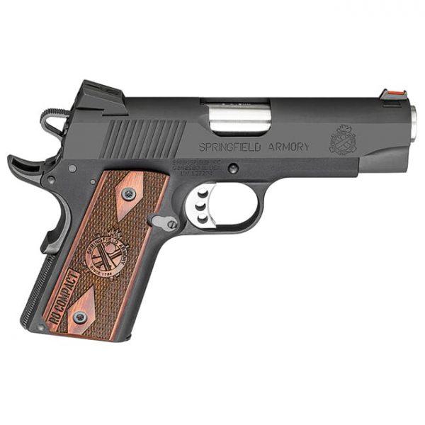 Springfield Armory 1911 A1 9mm Lightweight Compact Range Officer Black Pistol PI9125L