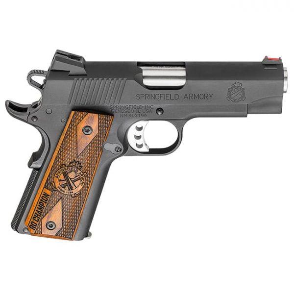 Springfield Armory 1911 A1 9mm Lightweight Champion Range Officer Black Pistol PI9137L