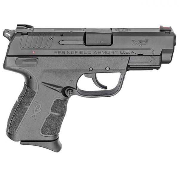 "Springfield Armory XDE 3.8"" 9mm Black Pistol (w/ 2 Magazines) XDE9389B"