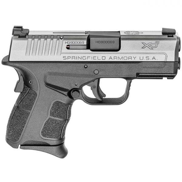 "Springfield Armory XDS .45 ACP MOD.2 3.3"" Stainless Tritium Night Sight Pistol (w/ 2 Magazines) XDSG93345ST"