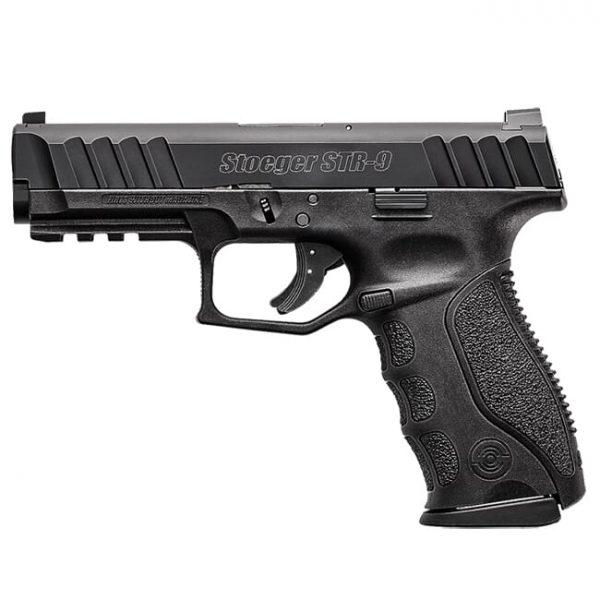Stoeger STR-9 9mm Black Pistol w/ (1) 10Rd Mag & Med Backstraps 31724