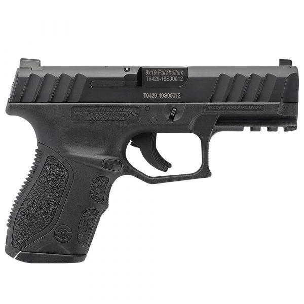 Stoeger STR-9C Compact 9mm Black Pistol w/ (1) 10Rd Mag & Med Backstraps 31733