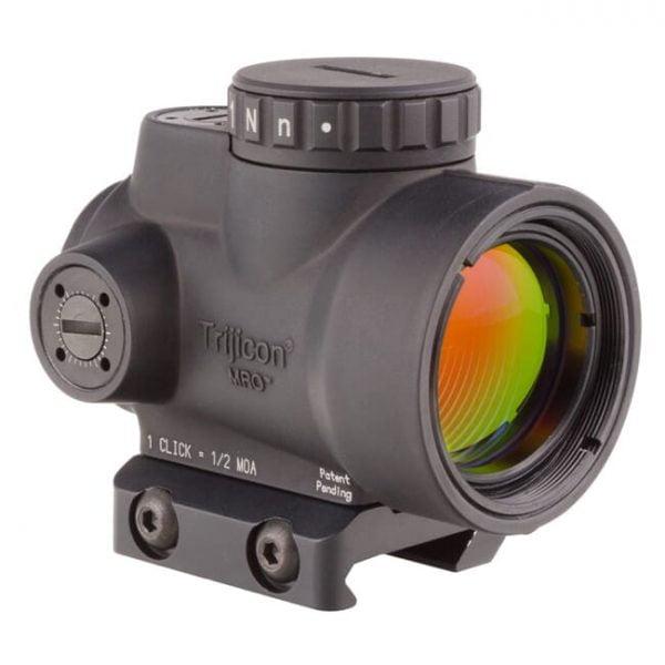 Trijicon 1x25 MRO 2.0 MOA Adj Red Dot w/Low Mount AC32067 MRO-C-2200004